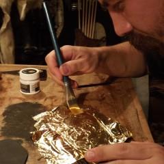 Az aranyfüst ragasztása