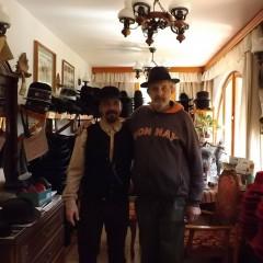 Látogatóban Mihalkó Gyula kalaposmesternél